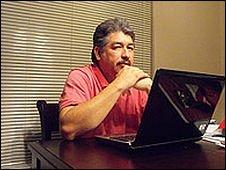 Jorge Luis Aguirre, editor of www.lapolaka.com