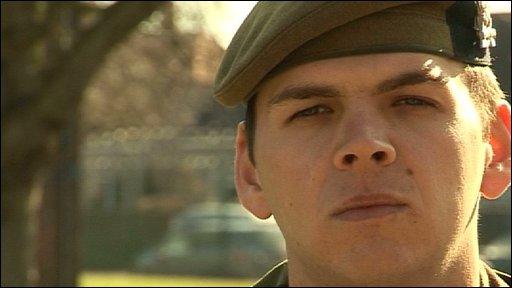 Corporal Shaun Whitehead