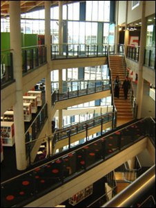The library's interior