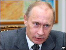 Vladimir Putin, file image