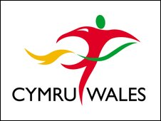 The Team Wales Commonwealth logo