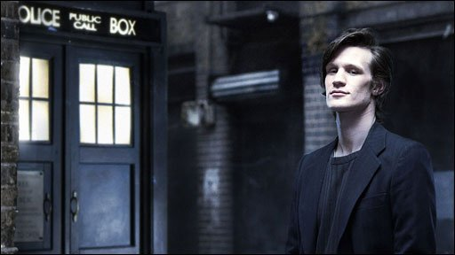 Matt Smith, a former drama student from the UEA, is cast as Doctor Who