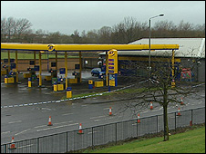 Jet service station on Springburn Road