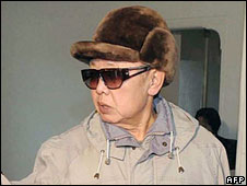 Kim Jong-il in undated handout picture from Korea's state news agency, released on 25 Feb 2009