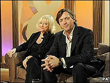 Richard and Judy on their Watch show