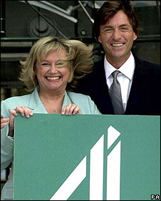 Richard and Judy in 2001