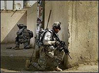 قوات امريكية في بغداد