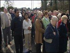 Vigil in County Antrim