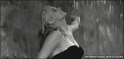 """Anita Ekberg en """"La Dolce Vita"""""""