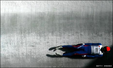 Briton Rosen believes he is an Olympic medal prospect in luge