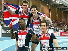 GB's 4x400m men's relay team