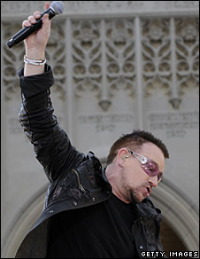 U2's Bono