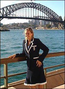 Laura and the Sydney Harbour Bridge