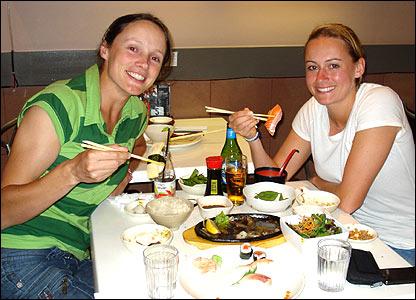 Caroline Atkins and Laura Marsh