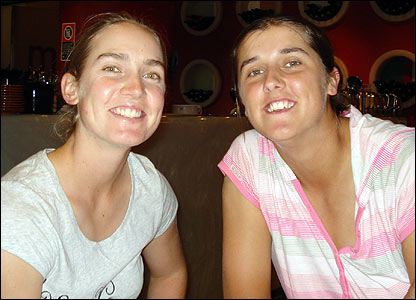 Beth Morgan and Jenny Gunn