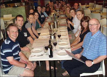 Team dinner in Sydney
