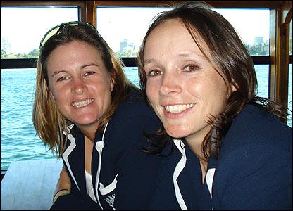 Lydia Greenway and Caroline Atkins