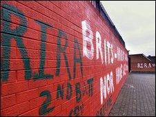 RIRA graffiti