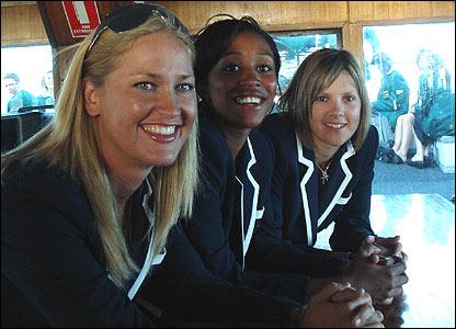 Lauren Griffiths, Ebony Rainford-Brent, Nicki Shaw