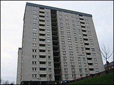 Hilltown flats