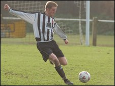 Footballer Dominic Heaume