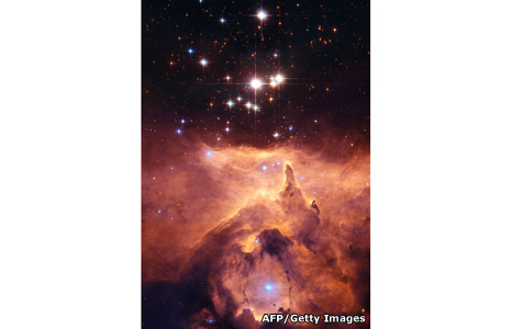 Star cluster Pismis 24