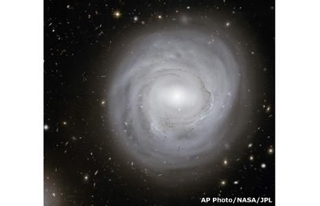 Spiral Galaxy NGC-4921