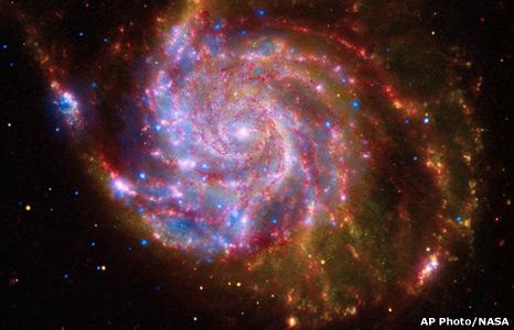 Spiral galaxy Messier 101