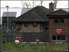 Main gate of Massereene Barracks, Co. Antrim