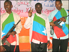 Ogaden National Liberation Front fighters  (file pic)