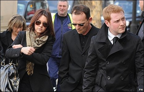 Lacey Turner, Perry Fenwick and Charlie Clements