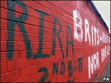 Real IRA graffiti