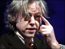 Sir Bob Geldof, London, UK, 9 March 2009