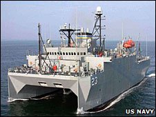 US Navy photo of the USNS Impeccable 