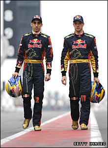 Sebastien Buemi and Sebastien Bourdais