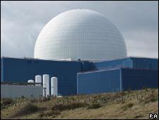 Sizewell B reactor hall (image: PA)