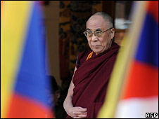 The Dalai Lama, in Dharamsala on 10 March 2009