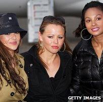 Cheryl Cole, Kimberley Walsh and Alesha Dixon