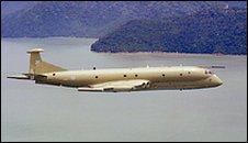 A Nimrod MR2 in flight