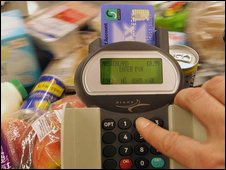Paying for shopping