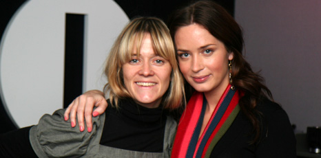 Emily Blunt with Edith Bowman