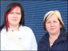 Leanne and Jacqueline Davidson
