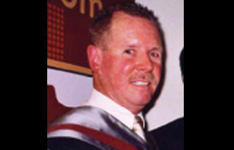 Constable Stephen Carroll was fatally wounded when shots were fired through a rear window of his police car.
