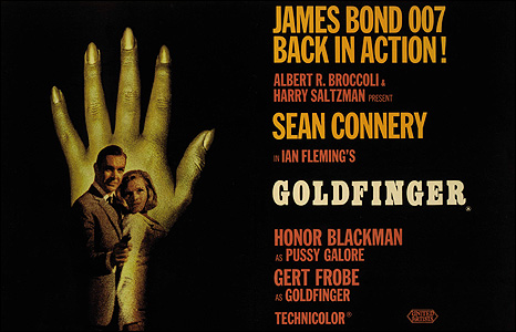 James Bond. Goldfinger