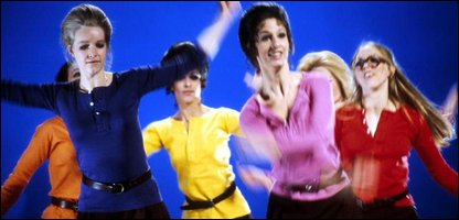 Pans People dancing