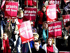 Fees protest, 2002