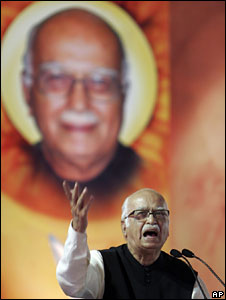 File photo of LK Advani