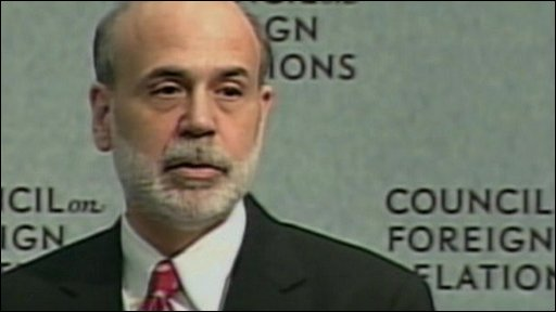 US Federal Reserve chief Ben Bernanke