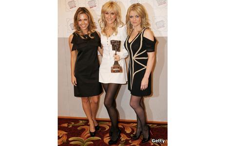 Adele Silva, Katherine Kelly and Daniella Westbrook