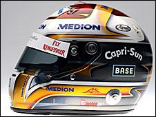 Adrian Sutil's 2009 helmet
